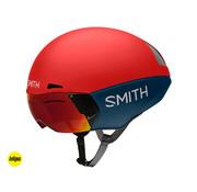 SMITH Casco de prueba Smith Podium TT Time Rojo