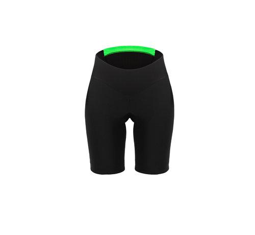 Q36.5 Cycling Clothing Q36.5 Damas cortas negras sin tirantes