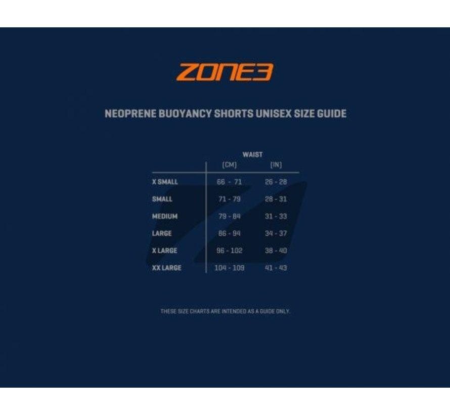 Zona3 Pantalones cortos de baño de neopreno para hombres