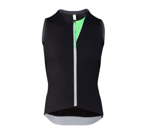 Q36.5 Cycling Clothing Q36.5 Woolf Insulated Vest Bombardino Heren Zwart