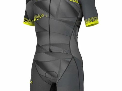 ALE Triathlon ALE Hawaii Trisuit Short Sleeve Men Black
