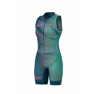 ALE Triathlon ALE Hawaii Trisuit Dames Smaragd Groen