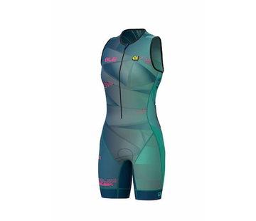 ALE Triathlon ALE Hawaii Trisuit Femmes Vert émeraude