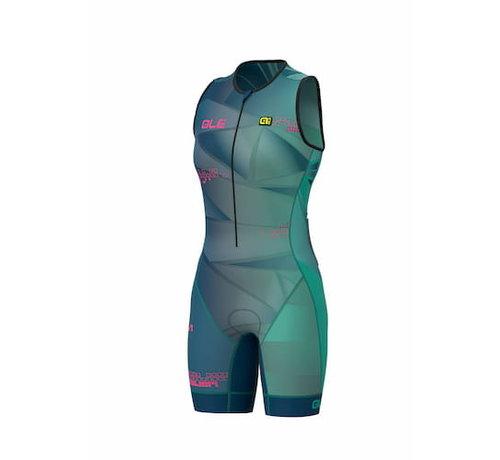 ALE Triathlon ALE Hawaii Trisuit Mujer Verde esmeralda