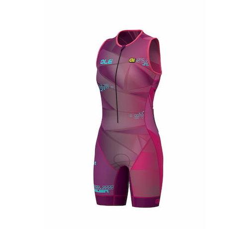 ALE Triathlon ALE Hawaii Trisuit Mujer Púrpura