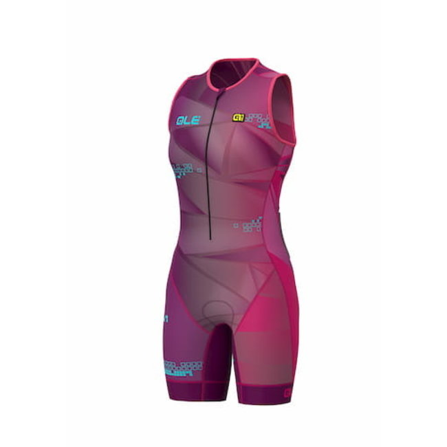 ALE Triathlon ALE Hawaii Trisuit Dames Paars