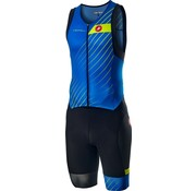 Castelli Castelli Free Sanremo Suit Mens Sleeveless Blue