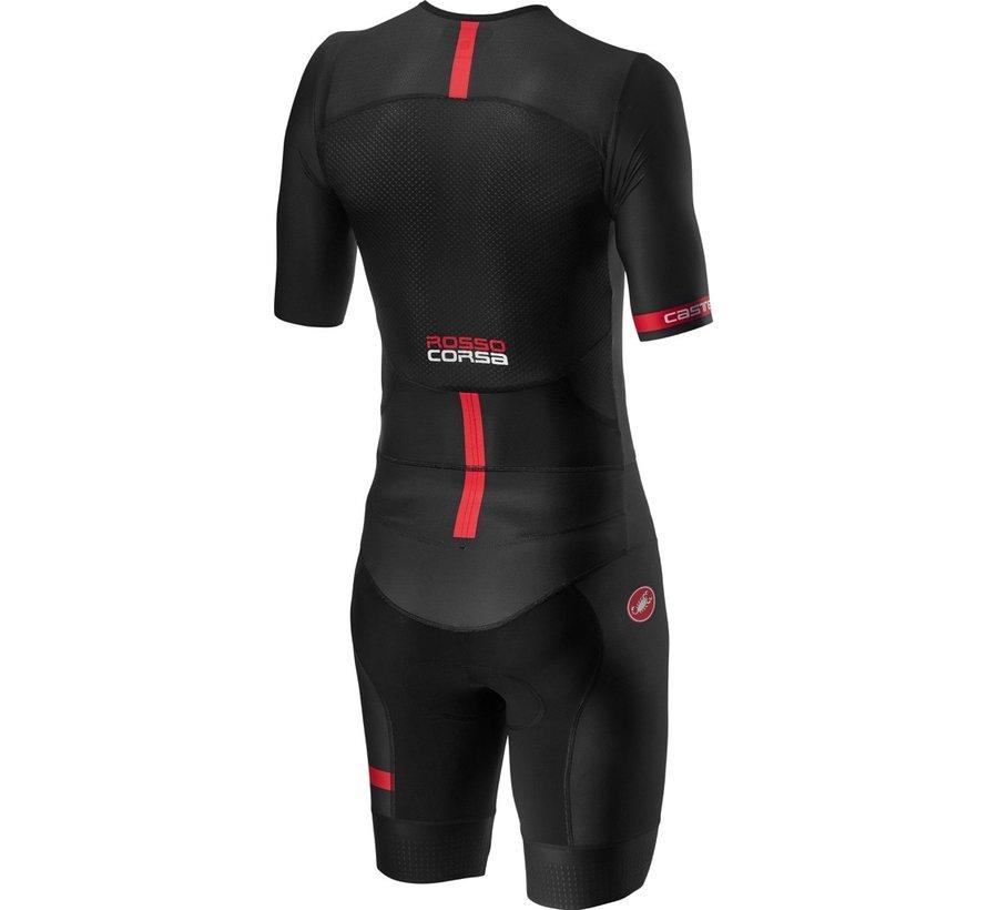 Castelli Free Sanremo Suit Short Sleeve mens Black