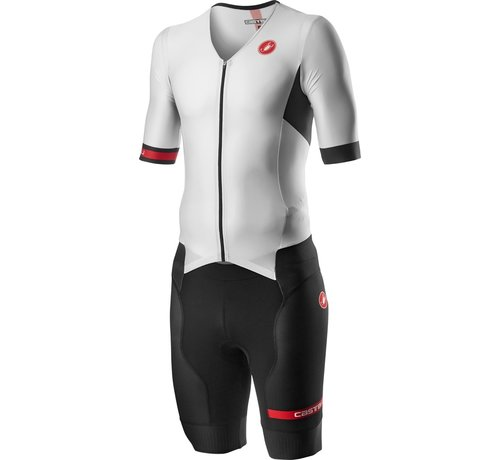 Castelli Castelli Free Sanremo Suit Short Sleeve mens Black/White