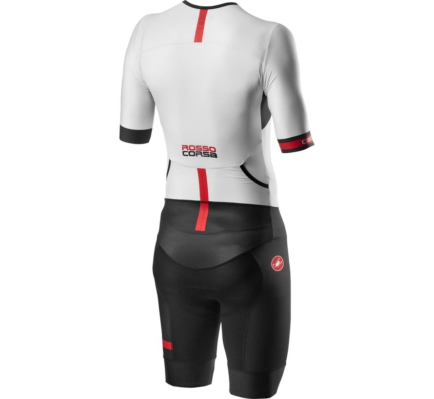Castelli Free Sanremo Suit Short Sleeve mens Black/White
