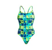 Funkita Funkita One Piece Diamond Back Badeanzug Damen Pop Tropo