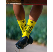 Sporcks Sporcks Allez Yellow Cycling Socks