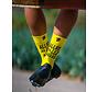 Sporcks Allez Jaune Chaussettes de vélo