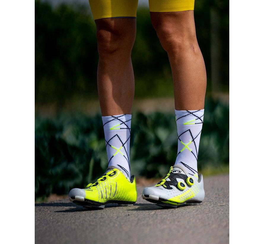 Sporcks Ciola Blanc Chaussettes de vélo