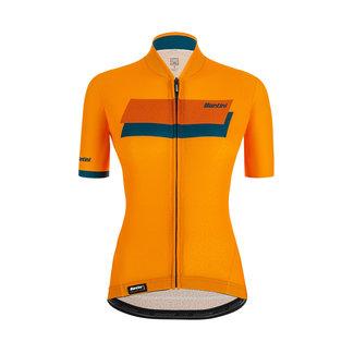 Santini Santini Karma Sassi Dames S/S Maglia da ciclismo