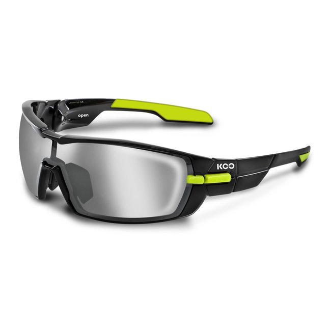 Kask Koo Open Fietsbril Zwart / Lime Groen