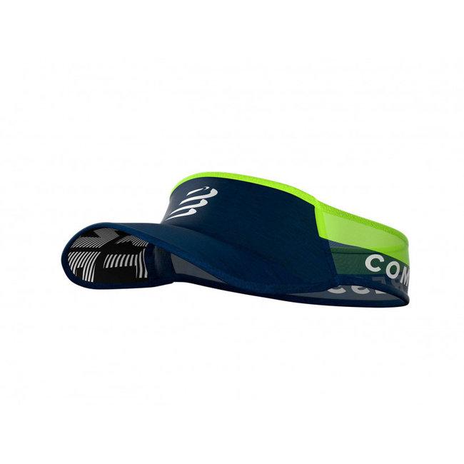 Compressport Visor Ultralight Blauw Lime