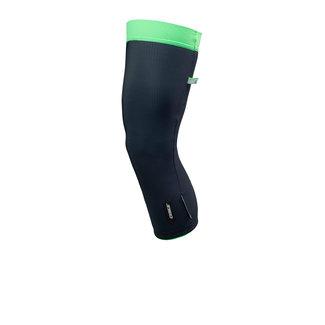 Q36.5 Cycling Clothing Q36.5 knee warmers Pre-shape Black