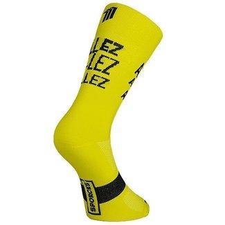 Sporcks Sporcks Allez Gelb Fahrradsocken