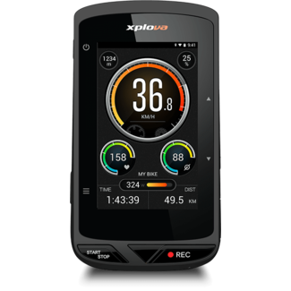 Xplova Xplova X5 Evo GPS Fietscomputer met Actioncamera