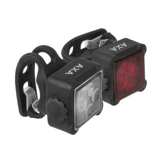 AXA AXA Niteline 44 Road bike lighting set USB