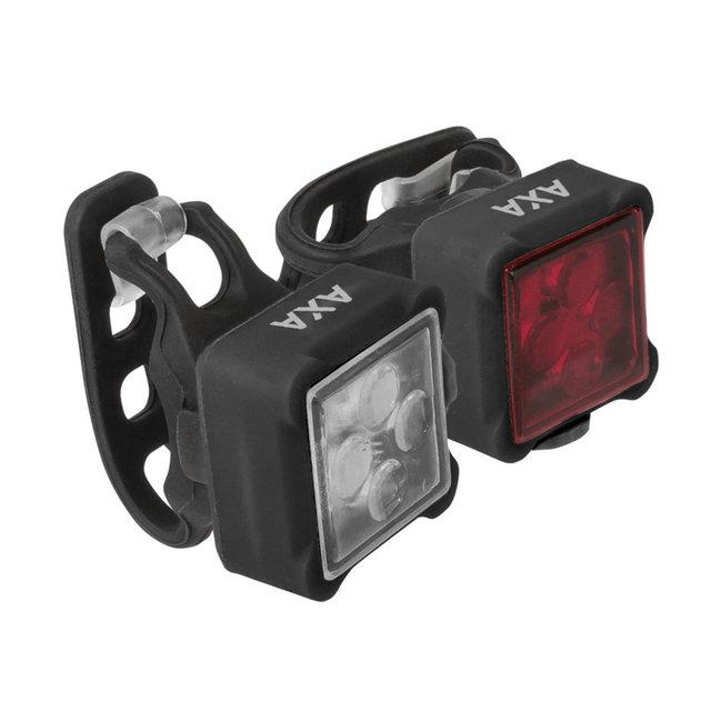 AXA Niteline 44 Fahrrad-Beleuchtungsset