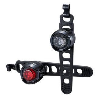 Cateye Cateye Orb SL-LD160RC USB Fahrrad-Beleuchtungsset