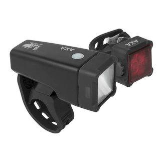 AXA AXA Niteline T4-R Verlichtingsset USB