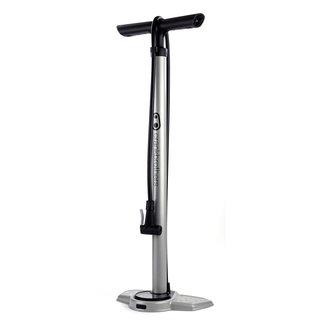 Crankbrothers Fratelli del pedale della bicicletta Pompa a pedale Zaffiro con manometro