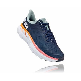 Hoka One One Hoka One One Clifton 7 ladies Black Iris / Blue Haze running shoes