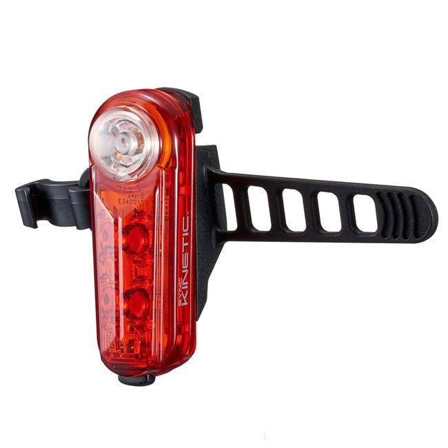 Cateye Sync Kinetic LED USB Fahrrad-Rücklicht mit hoher Sichtbarkeit
