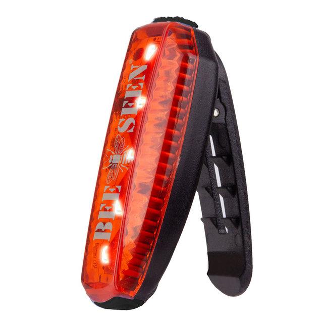 Bee Sports Hardlooplamp clip met Led-licht USB