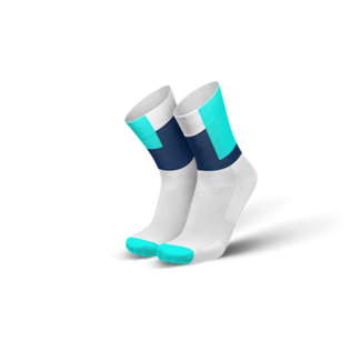 Incylence Incylence Squares Cyan Running Socks