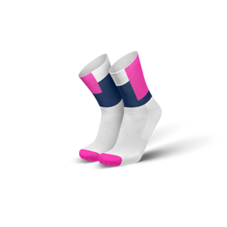 Incylence Incylence Squares Pink Running Socks