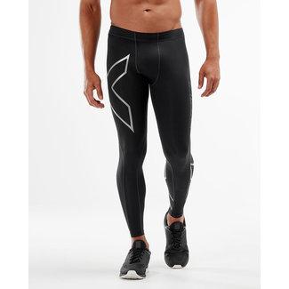 2XU 2XU Running Trousers Long Men Black-Silver