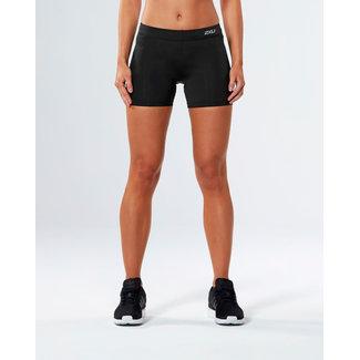 2XU 2XU Form Mid Rise Running shorts short ladies black-silver