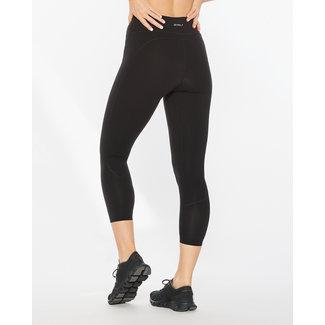 2XU 2XU Form Mid Rise Running Trousers 7/8 Women's Black-Silver