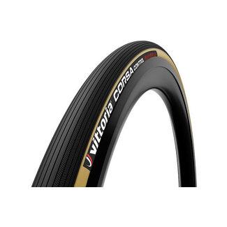 Vittoria Vittoria Corsa Control Beige - Schwarz Graphene 2.0 Faltbares Außenreifen-Rennrad