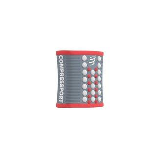 Compressport Compressport 3D Zweetband Grijs/Coral