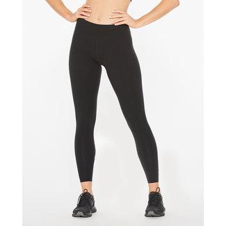 2XU 2XU Form Mid Rise Running Trousers Ladies Black-Silver