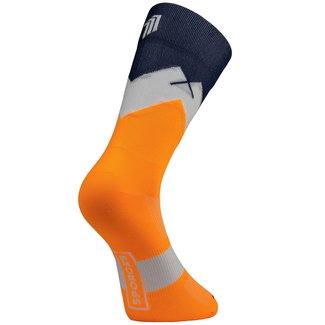 Sporcks Sporcks Mont Tendre Orange Radfahren Socken