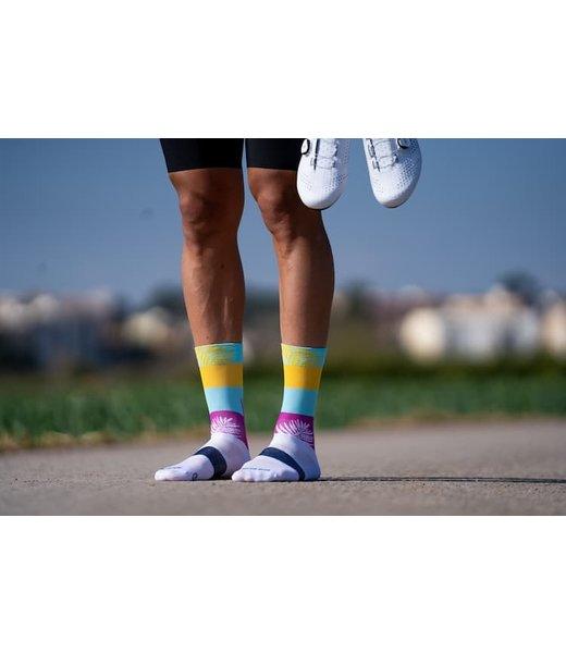 Sporcks Palm Springs White Cycling Socks
