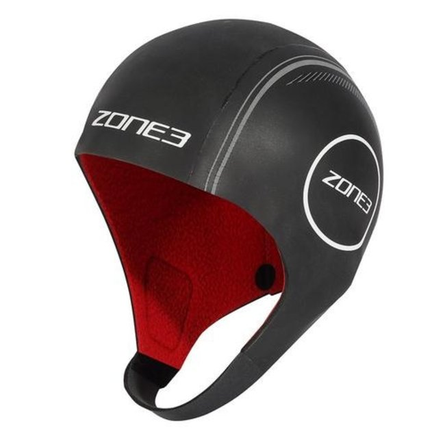 Zone3 Heat Tech Neoprene Swimming Cap with Strap