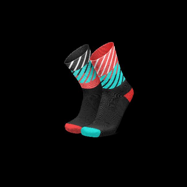 Incylence Diagonals Schwarz Inferno Running Socken