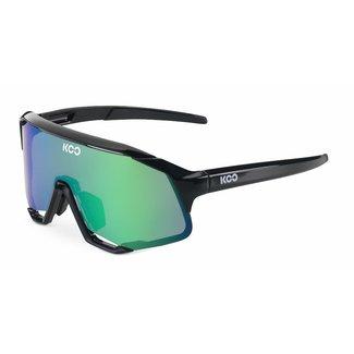 Kask Koo Kask Koo Demos Fietsbril  Zwart/Groen CAT.2 - VLT 23%