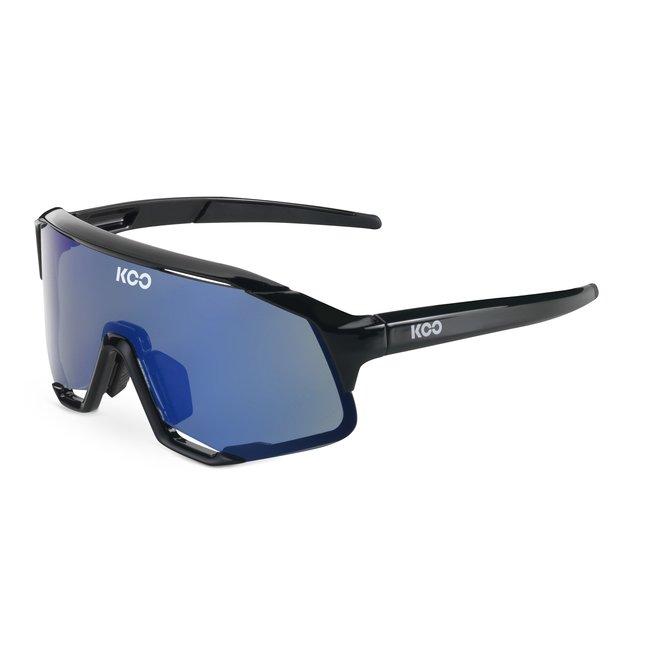 Kask Koo Demos Radfahrerbrille Schwarz/Blau CAT.3 - VLT 11%