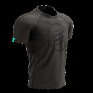 Compressport Compressport Training Korte Mouwen T-Shirt Black Edition Heren
