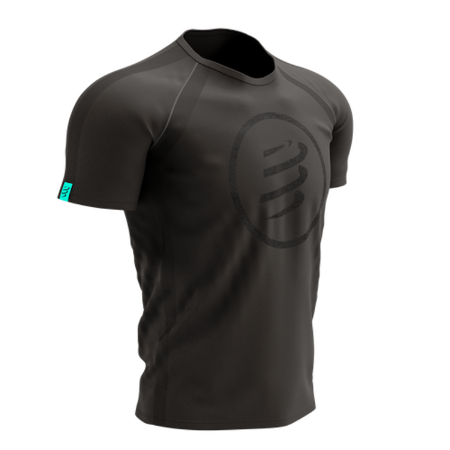 Compressport Training Korte Mouwen T-Shirt Black Edition Heren