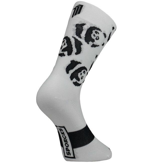 Sporcks Panda Radfahren Socken