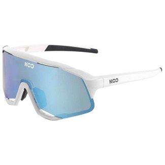 Kask Koo Kask Koo Demos Radsportbrille Weiß/Türkis CAT.3 - VLT 11%